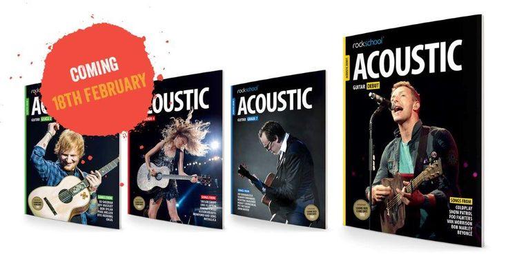 Llegan los nuevos libros de guitarra acústica de RockSchool a Canarias