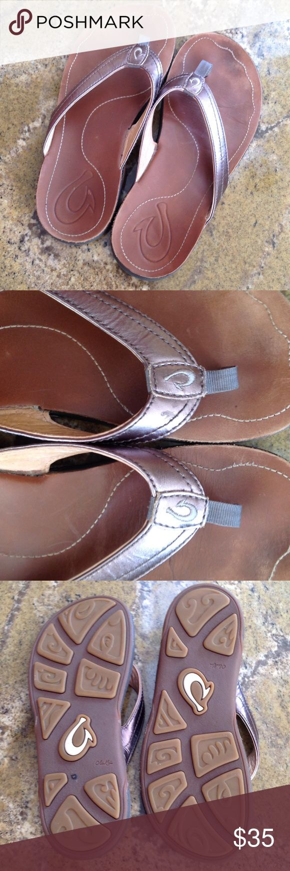 Size 6 Olukai sandal Size 6 Olukai sandal very little wear Olukai Shoes Sandals