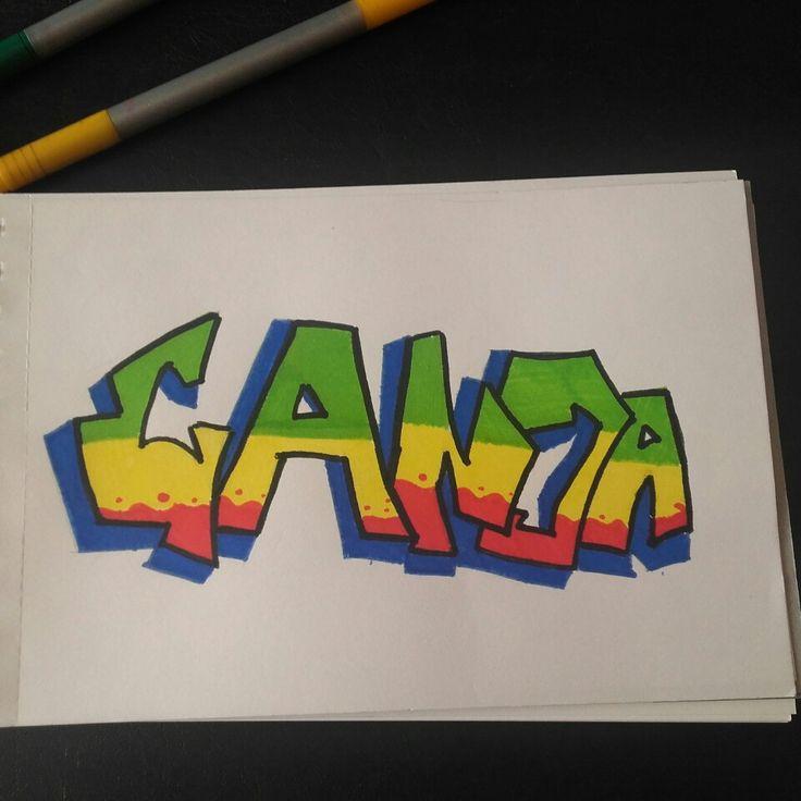 Graffiti ganja