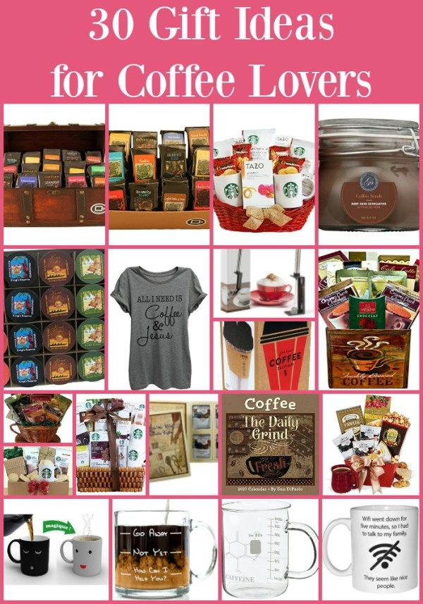 30 Gift Ideas for Coffee Lovers - Coffee lover or not, I am sure you know someone that lives for coffee. This list of 30 gift ideas for coffee lovers should cover everyone on your shopping list.