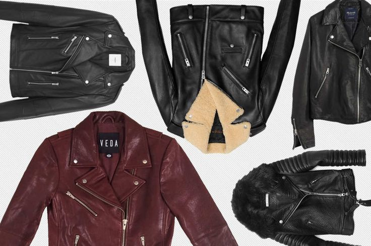 The Best Leather Jackets at Every Price -- The Cut -- includes our Jayne moto jacket in Bordeaux