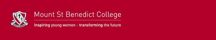 Mount St Benedict College -> Home