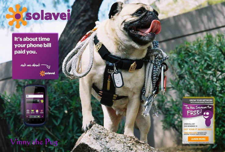 """Check out our """"No Contract"""", Unlimited Nationwide T-Mobile 4-G Voice, Text and Data.  It gets even better...the 1st Month and SIM Card, for your own phone, are FREE until 12/31.  Hurry and Sign-up Today!  1http://www.solavei.com/mobile-service       http://www.solavei.com/mobile-service"""
