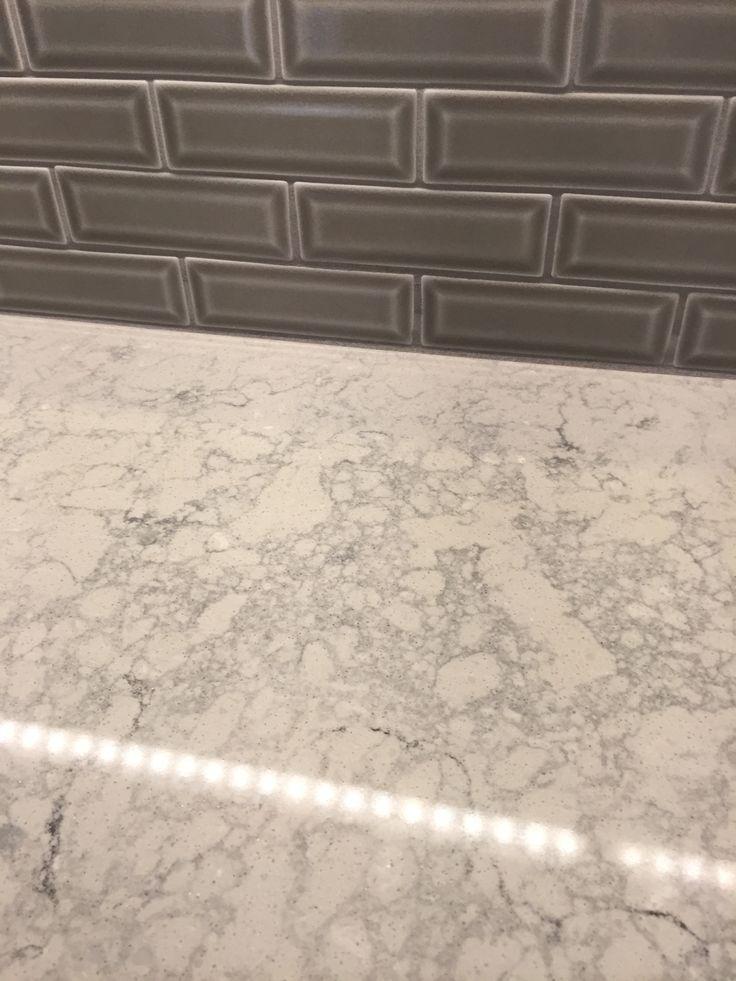 Caesarstone Montblanc Quartz Msi Dove Gray Beveled 2x6