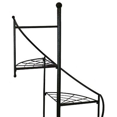Best 56 Iron 4 Tier Spiral Staircase Plant Stand Set Of 2 400 x 300