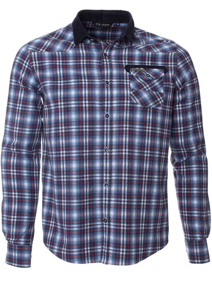 Springfields Mens Navy Shirt - Shirts - Mens - RRP £35.99 - Pinned by Wyatt Shoe Shop