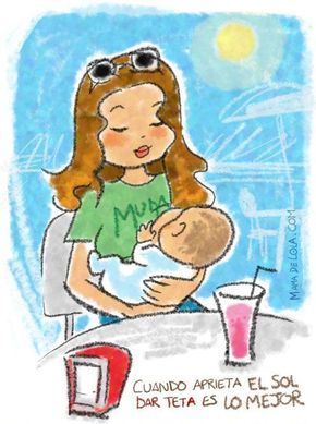 Para garantizar la producción de leche debemos tener presente el amamantar a demanda. El bebé debe mamar frecuentemente al menos unas ocho veces en 24 horas, tanto de día como de noche. #SemanaMundialdelaLactanciaMaterna #mamá #bebé