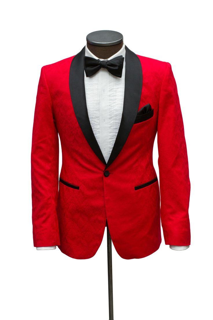 Cabaret Vintage - The Manhattan Red Brocade Dinner Jacket, $595.00   #vintagestyle #dinnerjacket #bespoke #cabaretcollection #fashion #menwithclass #simplydapper #dandy  #tailormade  #igfashion #dapper  #dresstoimpress #bespoketailor #menswear #eveningsuit #mensfashion  #bespokesuits #esquire #suitsandthecity#mensstyle #menssuit  #gq #menwithstyle #styleformen #groomsinspiration #highfashionmen #mensfashionpost  #fashionformen  #gentleman