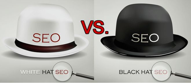 White Hat SEO consists of methods namely- Research, Analysis, Quality Content, Website Design, and Meta Tags, and Black Hat SEO comprises of the tactics such as Keyword Stuffing, Doorway, Link Farming, Cloaked Pages, Blog Comment Spam, Hidden Links, and Texts, etc. http://www.creationinfoways.com/blog/article/blog/some-useful-tips-to-optimize-your-web-content-for-seo.html