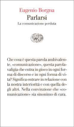 Eugenio Borgna, Parlarsi, Vele - DISPONIBILE ANCHE IN EBOOK