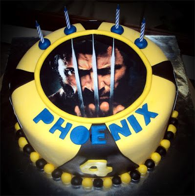 Delana's Cakes: Wolverine Cake