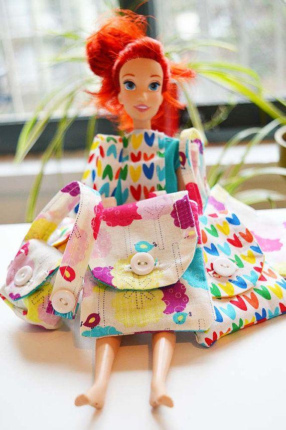 Doll Bag Set. Barbie Doll Accessories Set. Cute by StudioAPlus