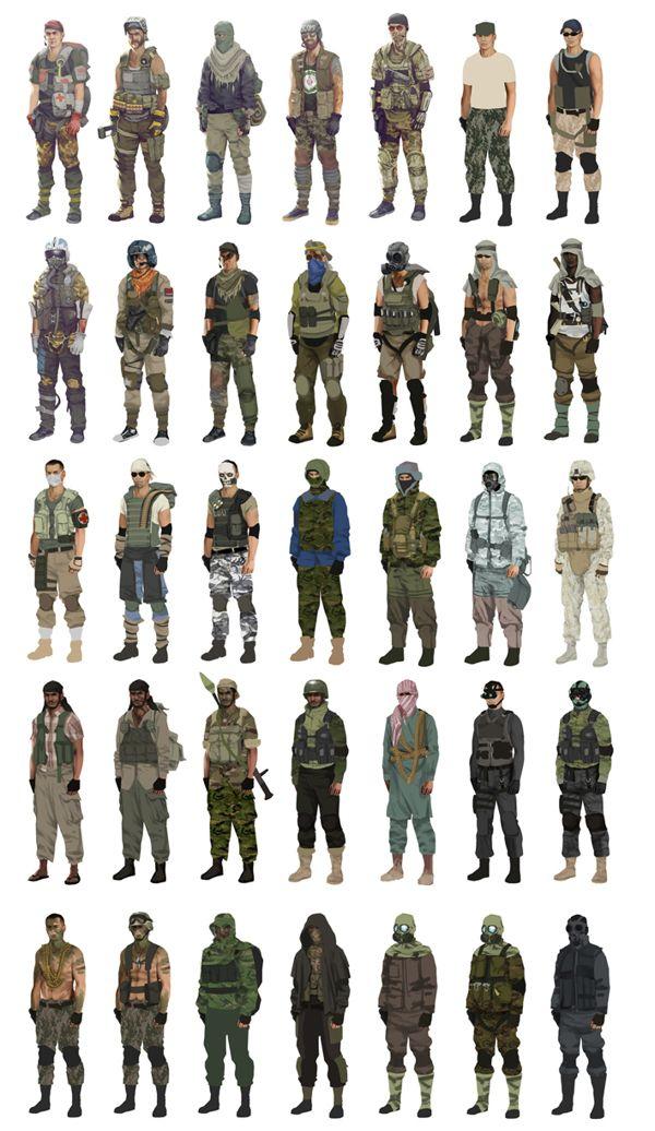 Battlefield Play4Free by Joakim Hellstedt, via Behance