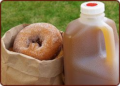 The on-site bakery at Grandpa's Cider Mill in Coloma features fresh cider doughnuts, fresh fruit pies, and their famous Michigan Melts. Watch as apples from nearby Jollay Orchards are pressed into fresh cider, shop for gourmet goodies in the store, or indulge in some family fun time at the Animal Farm.