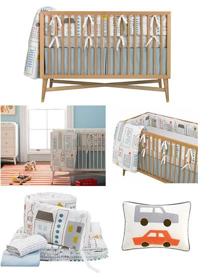 dwell baby furniture. Dwell Baby Crib Bedding - Skyline (SALE $306) #EasyPin Furniture