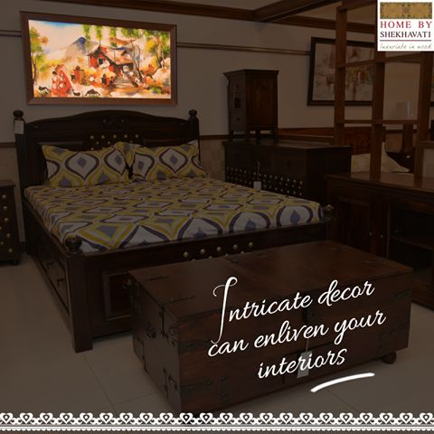 Create your living room set up with class!   From a CLASSY SPELL to ECLECTIC CHARM. We have a Living Room furniture range that'll make you shop NON - STOP.  To buy the collection visit : http://bit.ly/HBS_bakharaDoubleBed