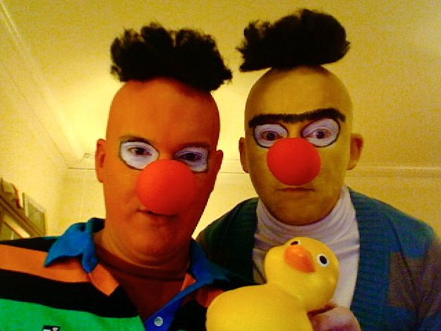 Bert and Ernie    Awesome DIY Costumes That Will Inspire You This Halloween
