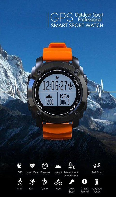 Reloj y celular 2 en 1! Con GPS, monitor cardíaco, altímetro, barómetro, termómetro y mas! OFERTA