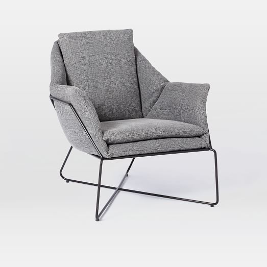 Origami Upholstered Lounge Chair west elm Furniture Seating and Beds