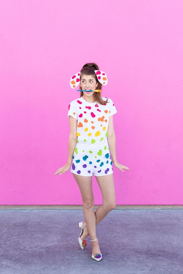 Love Lisa Frank? Make one of these costumes for Halloween.