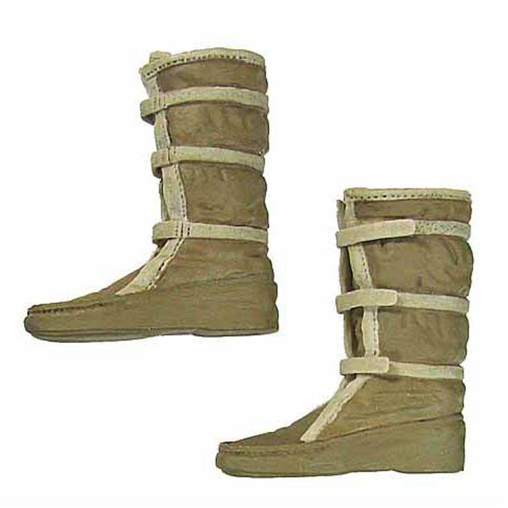 Sideshow 1/6 Star Wars Echo Base Han Solo Hoth Boots Luke Skywalker w ankle pegs | eBay