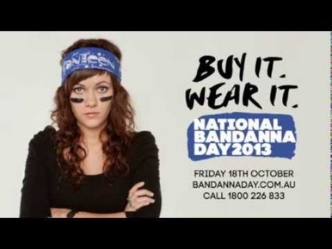 Can Teen National Bandanna day. This Friday is your chance to make a difference. Great to work on this project (sound design, music ,voiceover production) with Can Teen and Cass Gaunson, a fantastic animator. http://www.canteen.org.au/how-you-can-help/events-calendar/national-bandanna-day/