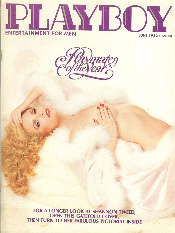 Vintage Playboy Magazine with Shannon Tweed June 1982 Playmate of the year Collectors Item L@@K! by RustyRelicsTreasures on Etsy