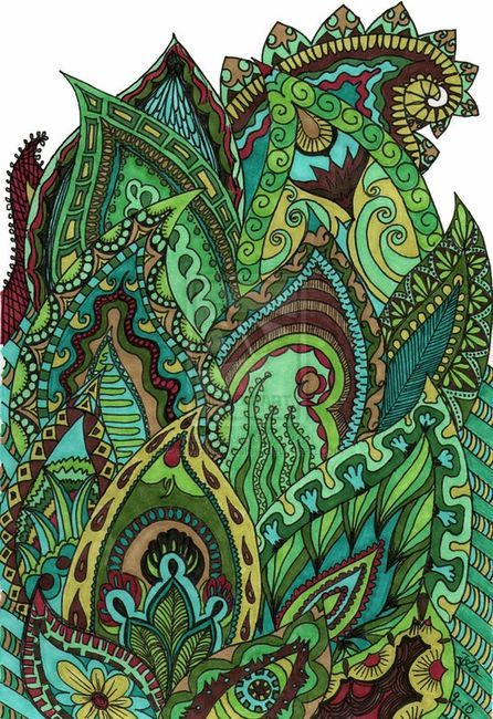 Image detail for -Art: Doodles and Zentangle / zentangle on imgfave