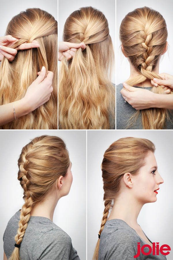 Frisuren Step By Step Tolle Frisuren Pinterest Zöpfe Haar