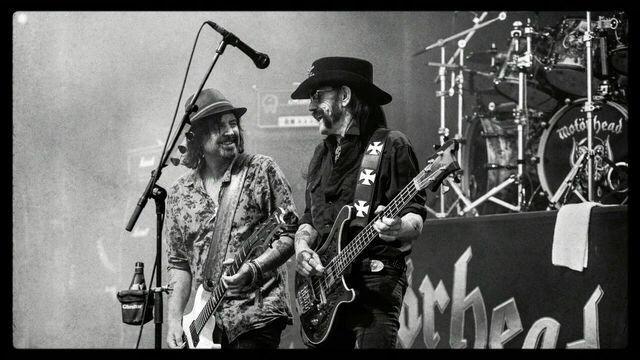 Phil Campbell & Lemmy Kilmister.MOTORHEAD
