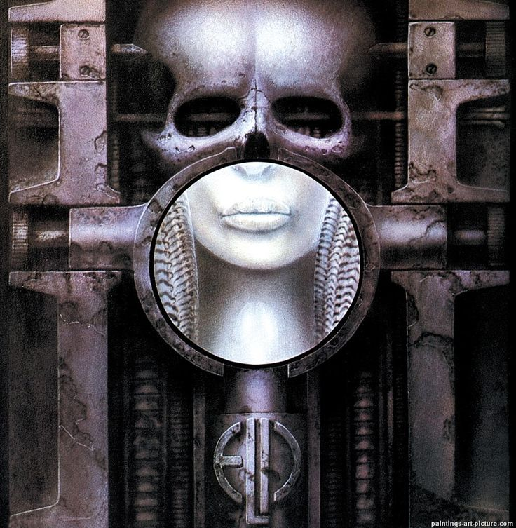"""""""Brain Salad Surgery"""", by ELP: 'Emerson Lake and Palmer', (1973), LP Cover Art by E.R. Giger"""