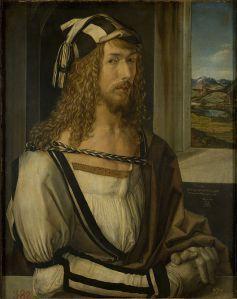 Albrecht Dürer - Autoportrait - 1498 - Madrid, musée du Prado