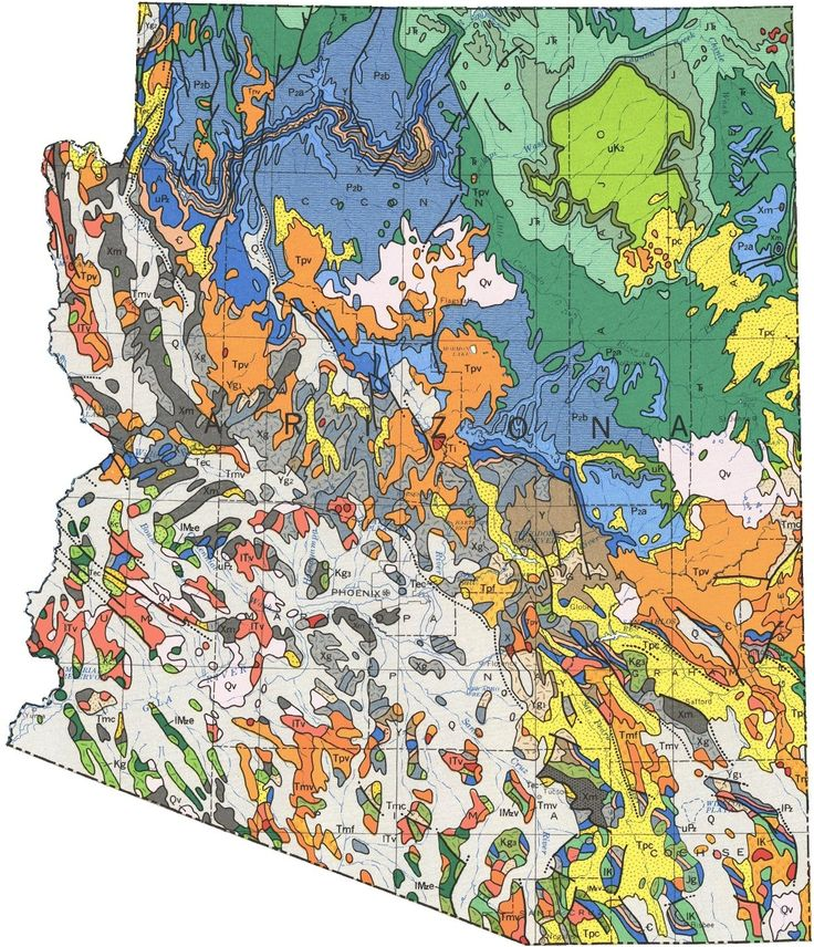 15 best maps images on pinterest cartography earth science and geologic map of arizona gumiabroncs Images