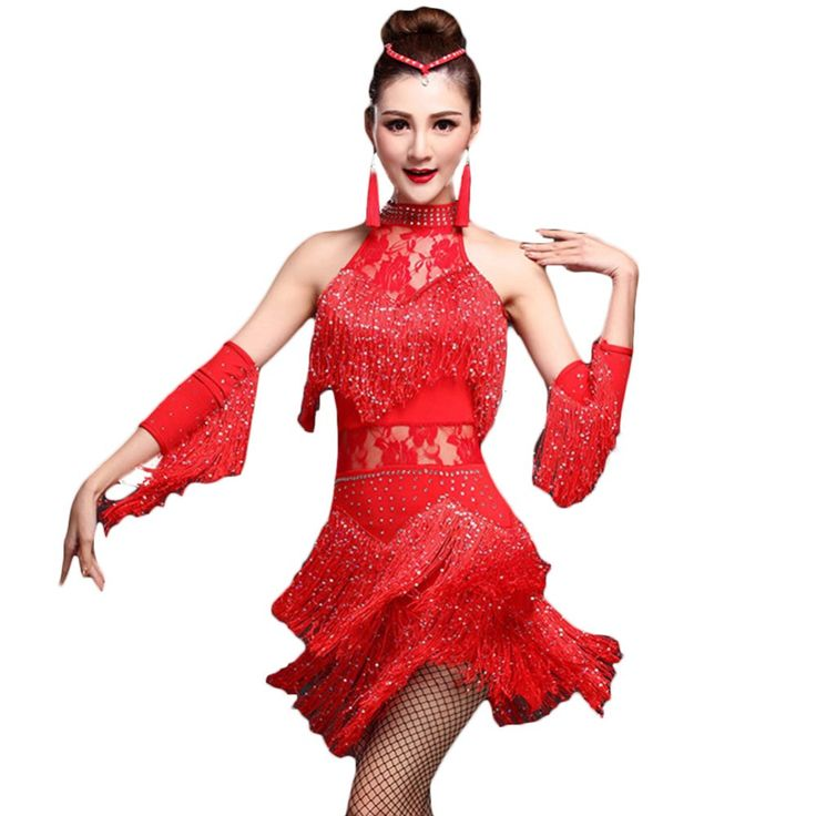 2017 Fringe Roaring 20'S 1920 Era Latin Salsa Flapper Girl Charleston Dance Halloween Prom Costumes Dress Plus Size