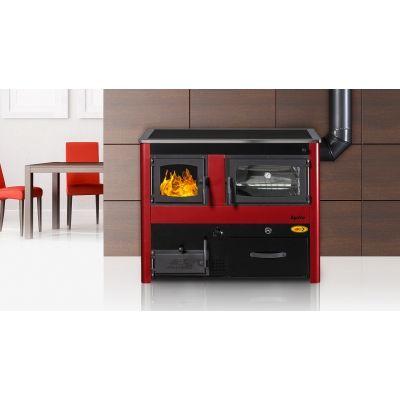 Cocina Calefactora  carbon-leña ABC Concept 2
