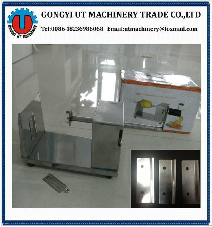 Made in China spiral Potato cutter machine,Potato cutter making machine With manufacture