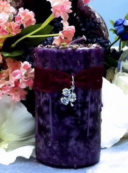Spring Promises - Imbolc Ritual 2x3 Pillar - pagan wiccan witchcraft magick ritual supplies
