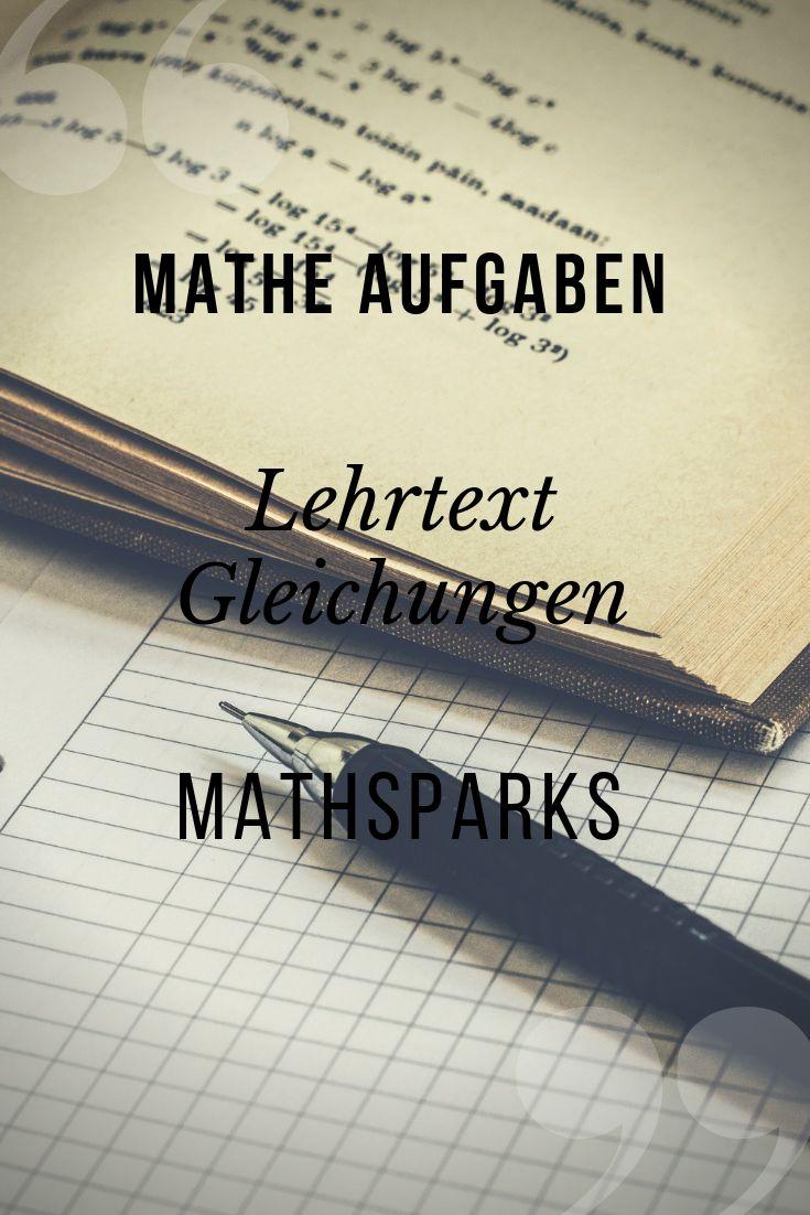 Gleichungen Ersten Bis Vierten Grades Losen Unterrichtsmaterial Im Fach Mathematik Binomische Formeln Gleichungen Unterrichtsmaterial