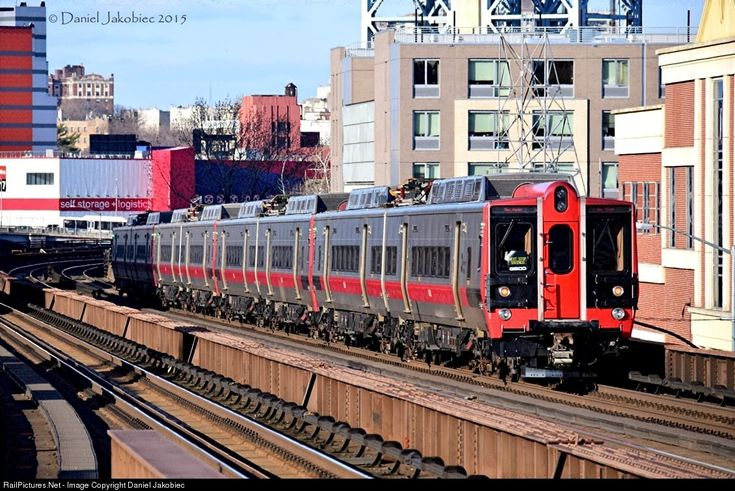 Grand Central to New Haven is leaving 125 Street Station in Harlem: MNCR 9501 Metro-North Railroad Kawasaki M8 EMU at Manhattan,New York , USA, New York by Daniel Jakobiec