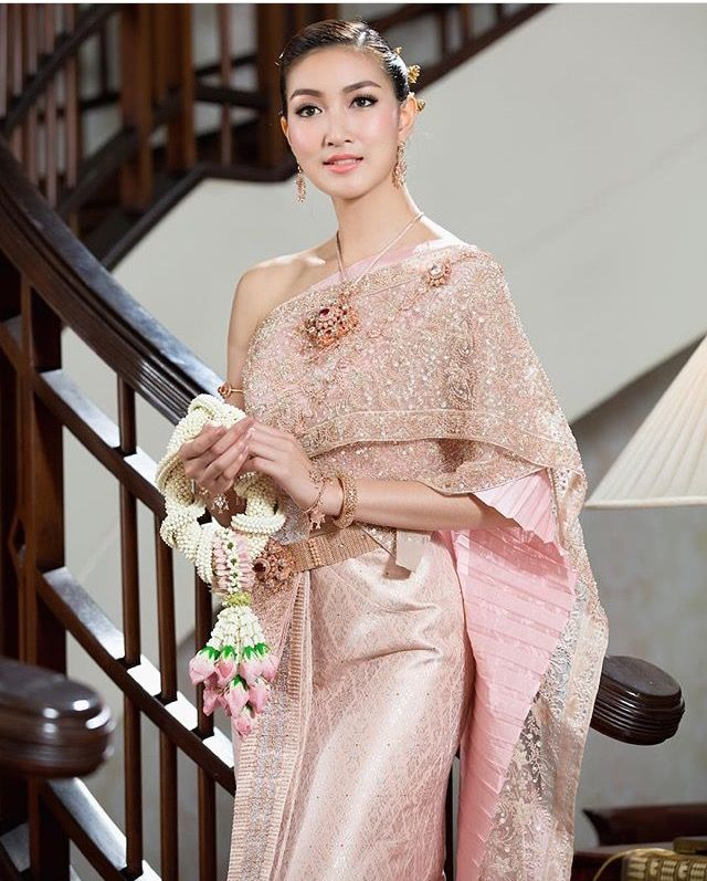 Thai Wedding Gowns: 226 Best Images About Thai Wedding Dress On Pinterest