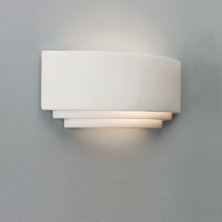 Astro Lighting 0423 Amalfi Art Deco Plaster Ceramic Wall Light - Lighting from The Home Lighting Centre UK