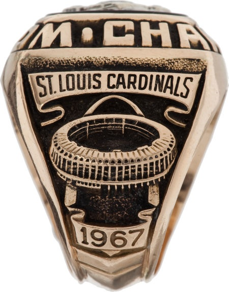 1967 St. Louis Cardinals World Championship Ring