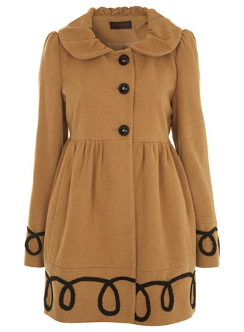 Miss Selfridge Camel Corneli Coat