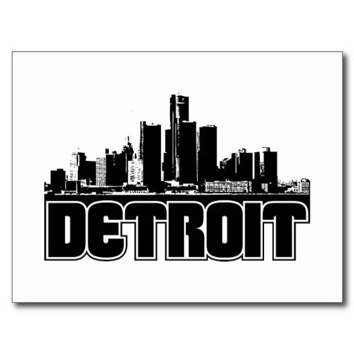 detroit skyline iphone wallpaper