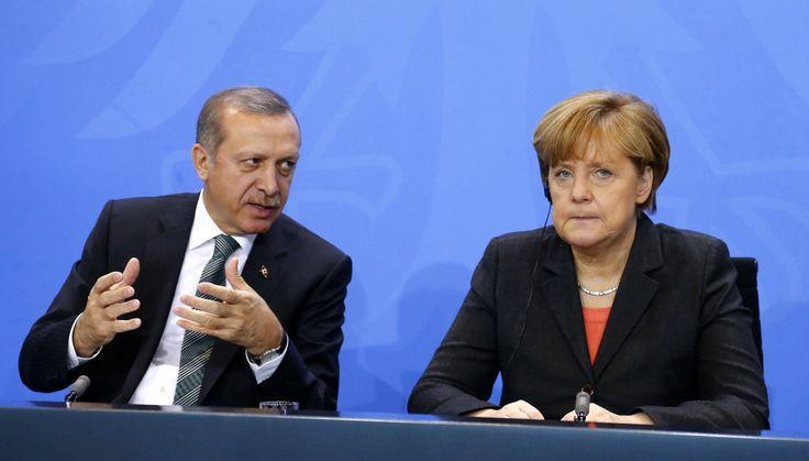 Angela Merkel tells Turkey to stop comparing the German government to Nazis