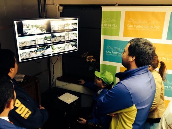 Monitoreando ONEMI, PDI, Municipalidad Simulacro TSUNAMI en Chile, con Avigilon Control Center Cliente, Avigilon en Chile es Polytrade