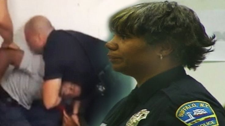 Cop Stops Fellow Officer From Choking Handcuffed Man, Then She Was Beaten and Fired cariol-buffalo-police