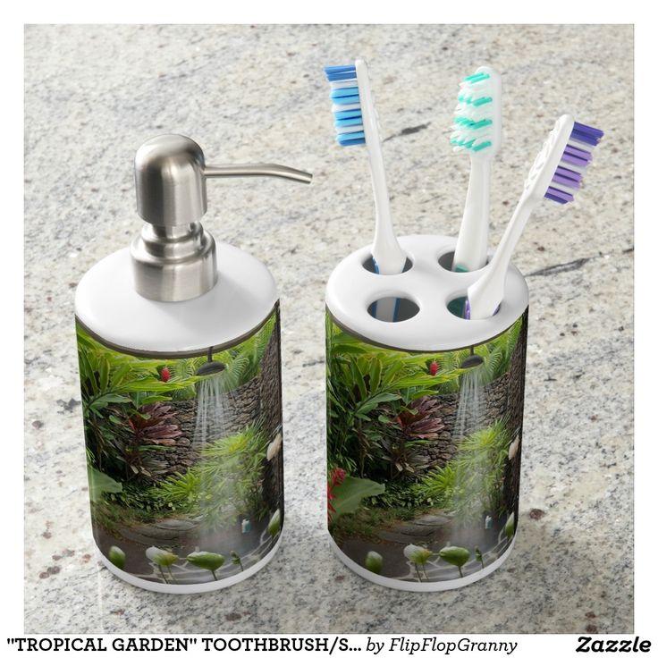 Die besten 25+ Tropical toothbrush holders Ideen auf Pinterest - badezimmer accessoires set