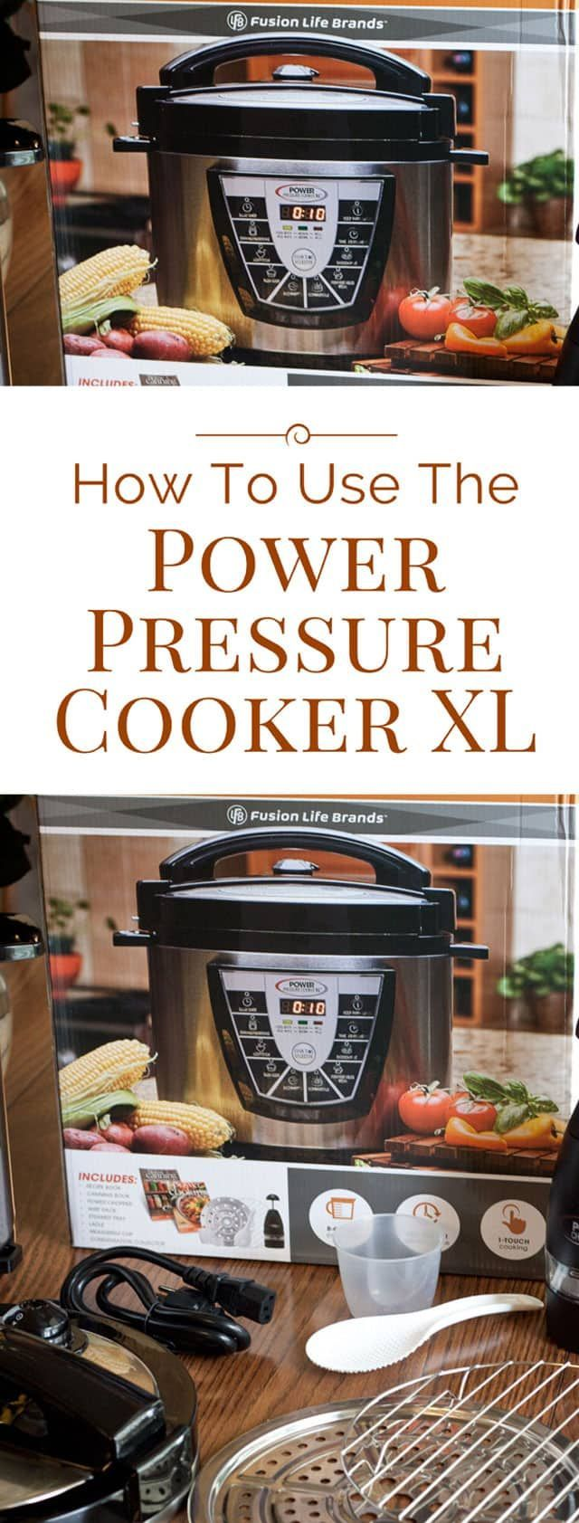 How To Use The Power Pressure Cooker Xl