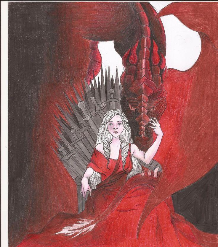 """Ecco una delle venti opere vincitrici del nostro contest """"Disegna il tuo Re e vinci i gadget de #IlTronodiSpade""""! -->http:/..."""